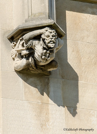 Statues and Gargoyles found on the Biltmore Estates in Asheville, NC during October 2016 vacation