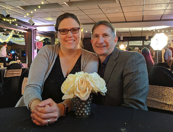 Brian and Linda Dinner with a Skunk Wildlife Prairie Park February 2019