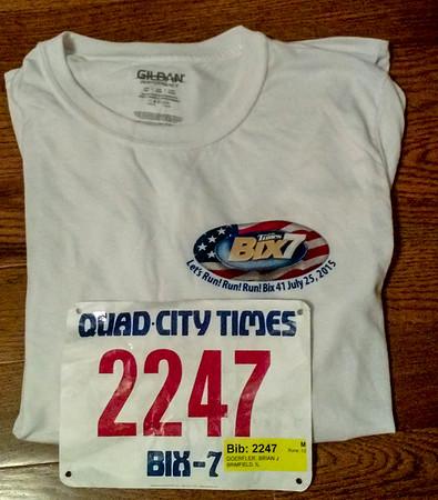 2015 Bix 7 Race in Davenport IA
