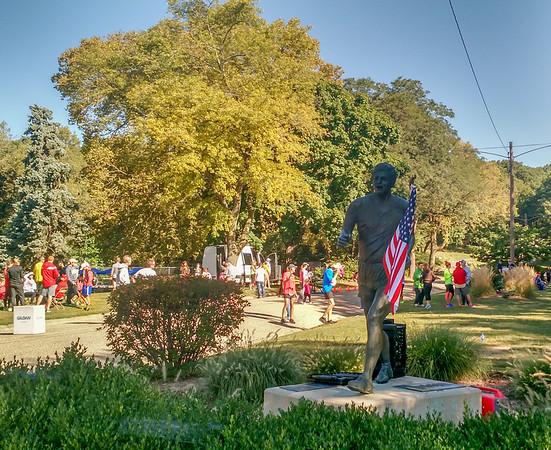 IVS Half Marathon 2015 in Springdale Cemetery