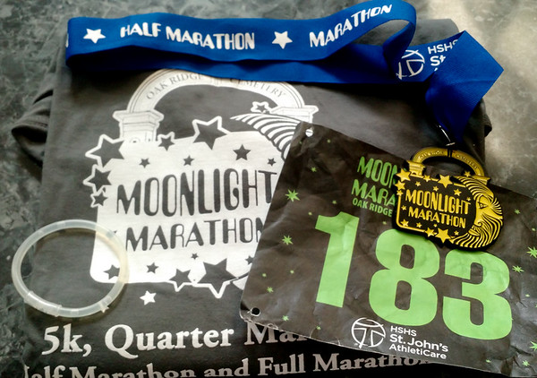 Oak Ridge Cemetery Moonlight Marathon 2016