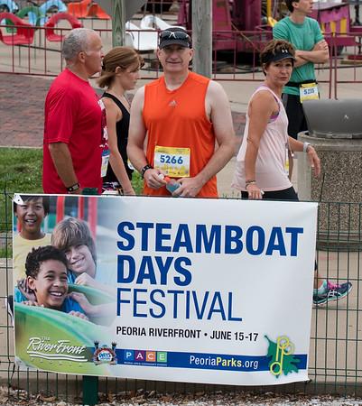 Steamboat 15K Peoria IL, June 17th, 2017