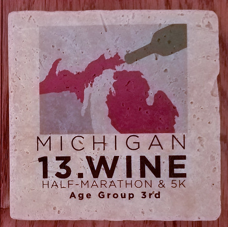 13.Wine Half Marathon in Baroda, Michigan August 20th 2017