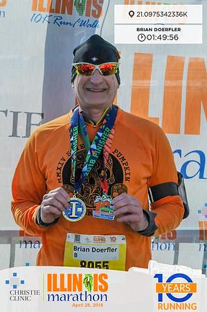 Illini Marathon April 2018 - I-Challenge Half