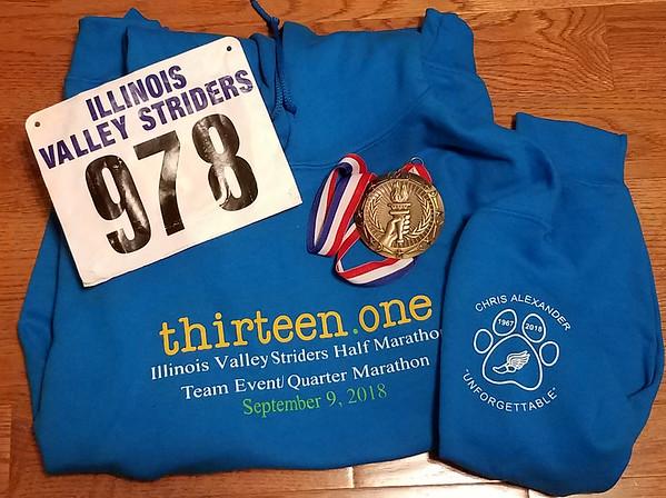 IVs Half Marathon 2018, Springdale Cemetery