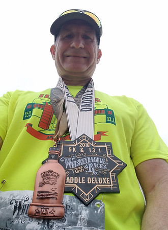 WhiskeyDaddle Half Marathon Daddle Deluxe Oct 7th, 2018