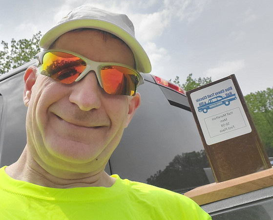 Blue Chevy Classic Half Marathon Trail Run, May 18th, 2019