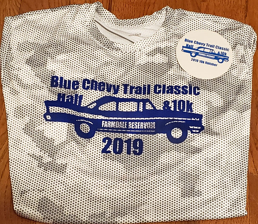Blue Chevy Classic Half Marathon Trail Run, May 18th, 2019
