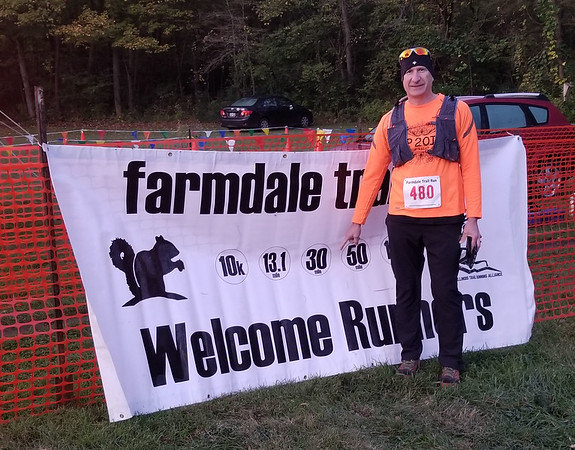 Farmdale Reservoir 30 Mile/50K trail run October, 2019