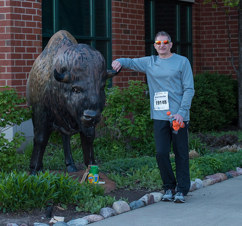 Illini Marathon I-Challenge Half 5K Race April 2019
