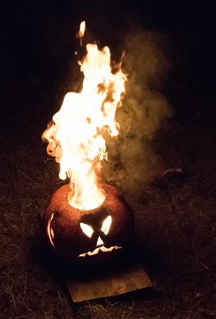 Halloween Trail 2015 - The Flaming Pumpkin