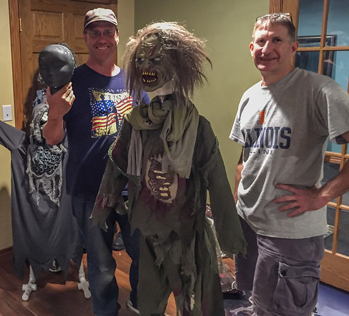 Haunted Trail 2016 - The Build