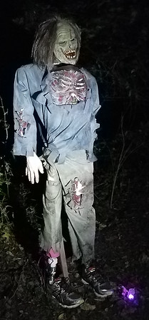 Zombie Animatronics for Halloween 2017