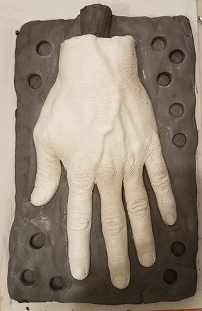 Project Hand Molding Halloween 2017
