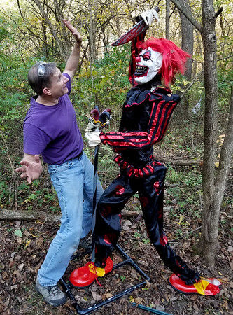 Behind the Scenes on the Haunted Trail of Tears 2017