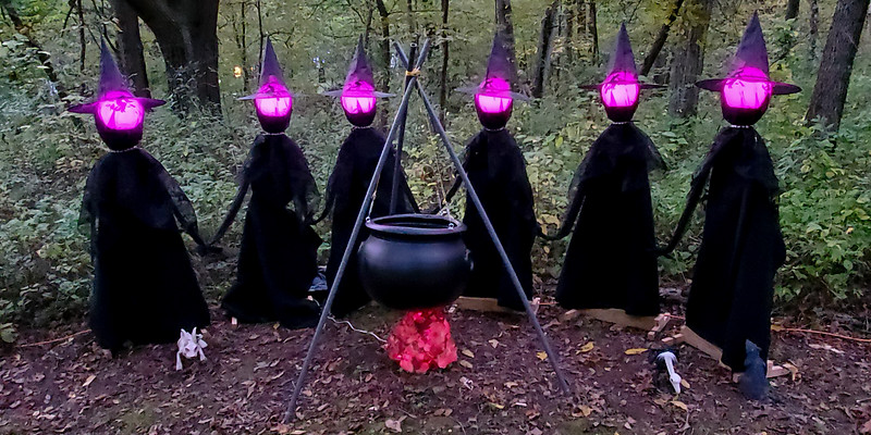 Haunted Trail Witch Upgrade