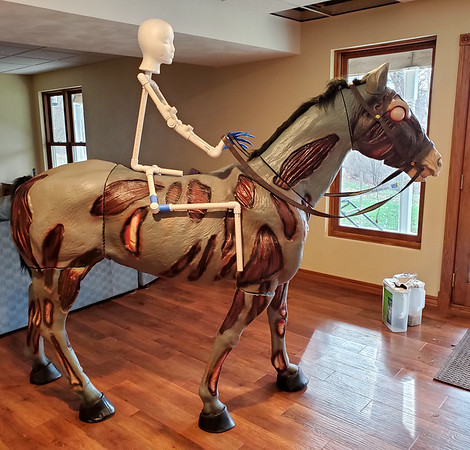 Headless Horseman Halloween Decoration 2019