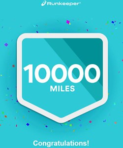 Runkeepr 10000 miles